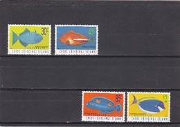 Cocos Nº 331 Al 334 - Islas Cocos (Keeling)
