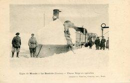 MENDE_LA BASTIDE(TRAIN CHASSE NEIGE) - Mende