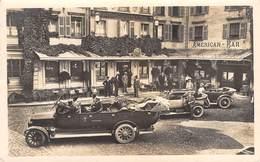 CPA  Suisse, BRIGUE, Grand Hotel Couronne Et Poste - Motor Cars & Coach, Carte Photo. - VS Valais