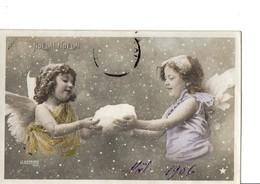 LE NORMAND Phot. NOEL !! NOEL !! Il Neige... DEUX PETITS ANGES. - Illustrators & Photographers