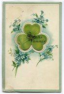 CPA - Carte Postale - Fantaisie - Bonne Année - Trèfle - 1909 ( CP4834 ) - Nieuwjaar