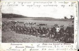 Soldatengruss  Défilé D' Un Lazaret De Division  CPA 1903 - Suisse