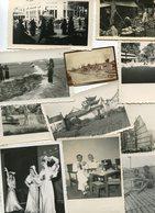 LOT De 62 PHotos Sur La Guerre D'Indochine Et Le Vietnam Viet Nam Saïgon Hanoï Cat Lai Cholon Port Haïphong Et Autres - Places