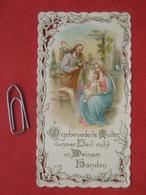 Heiligenbild: Lithographie Heilige Familie - Santini