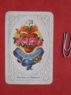 Heiligenbild: Lithographie Herz Mariens S. Cor Mariae - Andachtsbilder