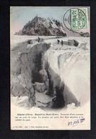Suisse / Série Pfaff / Glacier D'Orny (  Passage D'une Crevasse ) / Massif Du Mont Blanc - Schweiz