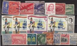 Kleines Restelot Aus Kanada-Amerika- Süd + Lateinamerika-2 - Stamps