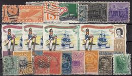Kleines Restelot Aus Kanada-Amerika- Süd + Lateinamerika-3 - Stamps