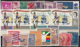Kleines Restelot Aus Kanada-Amerika- Süd + Lateinamerika-4 - Stamps
