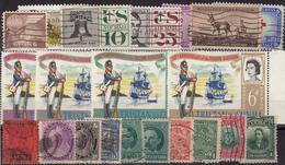 Kleines Restelot Aus Kanada-Amerika- Süd + Lateinamerika-5 - Stamps