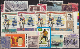 Kleines Restelot Aus Kanada-Amerika- Süd + Lateinamerika-6 - Stamps