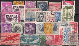 Kleines Restelot Aus Kanada-Amerika- Süd + Lateinamerika-8 - Stamps