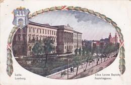 Ukraine Lemberg Lwow Ulica Leona Sapiehy - Ucraina
