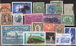 Kleines Restelot Aus Kanada-Amerika- Süd + Lateinamerika-10 - Stamps