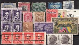 Kleines Restelot Aus Kanada-Amerika- Süd + Lateinamerika-11 - Stamps