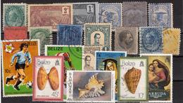 Kleines Restelot Aus Kanada-Amerika- Süd + Lateinamerika-12 - Stamps