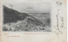 AK 0002  Semmering-Panorama Mit Station Und Tunnel / Verlag Regel & Krug Um 1900 - Semmering