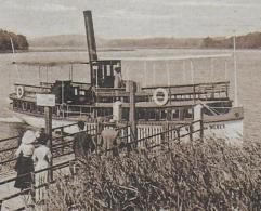 AK 0002  Holsteinische Schweiz - Dampfer-Landungsbrücke Am Keller-See Um 1920-30 - Dampfer