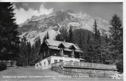 """AK 0002  Ramsau Am Dachstein - Alpengasthof """" Edelbrunn """" Gegen Hohe Scheichen Um 1950 - Ramsau Am Dachstein"""
