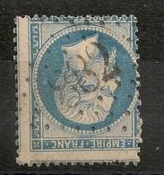 GC 882 CHAOURCE Aube, PIQUAGE 3 Voisins Sur 20C Napoléon Dentelé Non Lauré. - 1862 Napoléon III