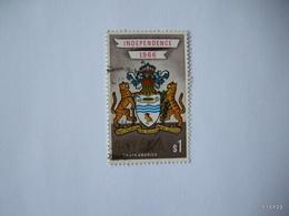GUYANA 1966. Arms Of Guyana. $1. SG 411. Used - Guyana (1966-...)