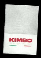 Tovagliolino Da Caffè - Caffè Kimbo  2 - Serviettes Publicitaires