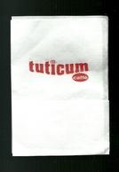 Tovagliolino Da Caffè - Caffè Tuticum - Serviettes Publicitaires