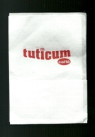Tovagliolino Da Caffè - Caffè Tuticum - Company Logo Napkins