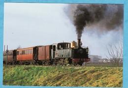 Chemin De Fer De La Baie De Somme Train Locomotive 130 T CP Années 80 ( TRES TRES BON ETAT ) +3760) - Treinen