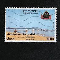 ◆◆CAMBODGE  2003 800R USED STAMPS MP174 - Cambogia
