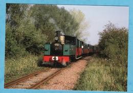 Chemin De Fer De La Baie De Somme Locomotive 031 T De Noyelles A CP Années 80 90 ( TRES TRES BON ETAT ) +3761) - Treinen