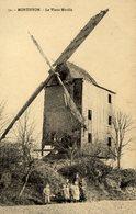 77 MONTHYON - Le Vieux Moulin (à Vent) - Animé - Frankreich