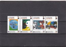 Brunei Nº 604 Al 607 - Brunei (1984-...)