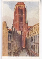 BERTH. HELLINGRATH. DANZIG, BEAUTLERGAFE MIT MARIENTURM, . CIRCA 1920's. - BLEUP - Postkaarten