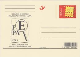"BRIEFKAART BK159 ** ""FEPA"" 2006. NIEUW / NEUVE - Illustrat. Cards"
