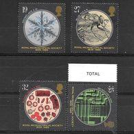Gran Bretagna 1989  150° Anniversario Della Società Reale Di Microscopia  Serie Completa Nuova/MNH** - 1952-.... (Elisabetta II)