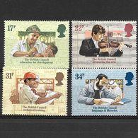Gran Bretagna 1984  Cinquantenario Del British Council  Serie Completa Nuova/mnh** - 1952-.... (Elisabetta II)