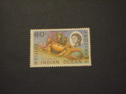 INDIAN OCEAN - 1970 GRECNCHIO  60 C.. - NUOVO(++) - Territorio Britannico Dell'Oceano Indiano