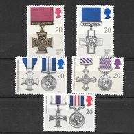 Gran Bretagna 1990  Medaglie E Decorazioni  Serie Completa Nuova/mnh** - 1952-.... (Elisabetta II)