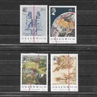 Gran Bretagna 1984  Centenario Della Convenzione Del Meridiano Di Greenwich  Serie Completa Nuova/mnh** - 1952-.... (Elisabetta II)