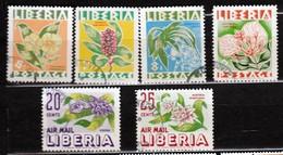 Liberia 1955 Mi 477-482 CTO - Liberia