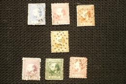 Pays Bas N° 7/12 + 7a Oblitérés - Period 1852-1890 (Willem III)