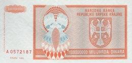 Croatia 1.000.000.000 Dinara, P-R17a (1993) - UNC - Kroatien