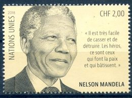 ONU Genève 2018 - Nelson Mandela ** - Neufs