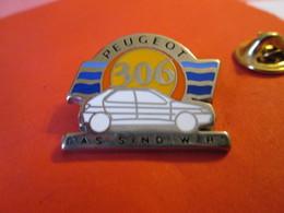 PIN'S   PEUGEOT  306   Version Allemande   Signé PICHARD - Peugeot