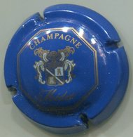 CAPSULE-CHAMPAGNE MEDOT N°02 Bleu Or Pâle & Blanc - Champagnerdeckel