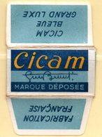 Rasage. Razor Blade. Lame De Rasoir. Lame Cicam, Fabrication Française. - Lames De Rasoir