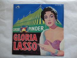 25 CM  GLORIA LASSO  LABEL PATHE FDLP 1075 CIRQUE PINDER - Rock