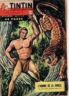 Tintin N°602 L'homme De La Jungle - Les Insectes Les Premiers Aéronautes - Fina Voyage De L'huile Dans Le Moteur De 1960 - Tintin