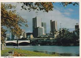 Postcard City Skyline Melbourne Victoria Australia PU 1979 To Pontins Holiday Camp Weston Super Mare  My Ref  B22796 - Melbourne